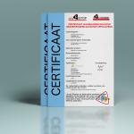 Certificaat van behandeling