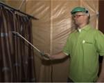 Spraymethode voor brandwerend behandelen